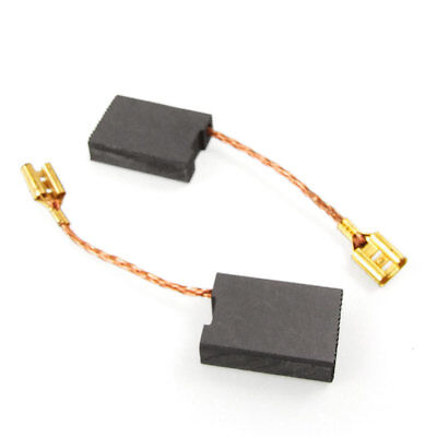 2 Pcs Metric 22mm x 16mm x 6mm Motor Carbon Brushes Replacement