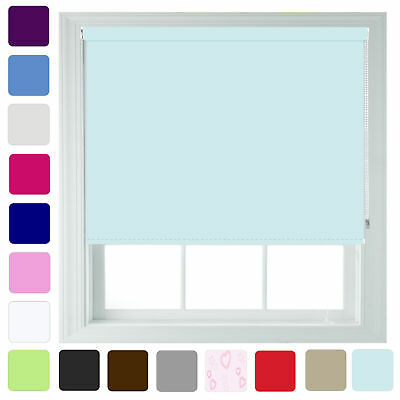 Plain Roller Blinds - FREE Cut Down Service - Quality Blind by Furnished