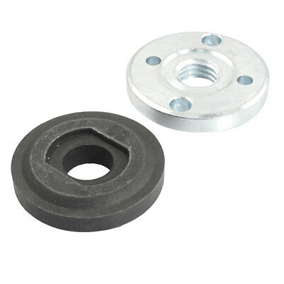 2pcs Angle Grinder Spare Part Round Clamp Inner Outer Flange for Bosch GWS20-180