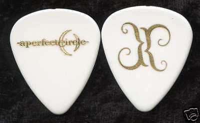 A PERFECT CIRCLE 2000 Tour Guitar Pick!!! TROY VAN LEEUWAN custom concert stage