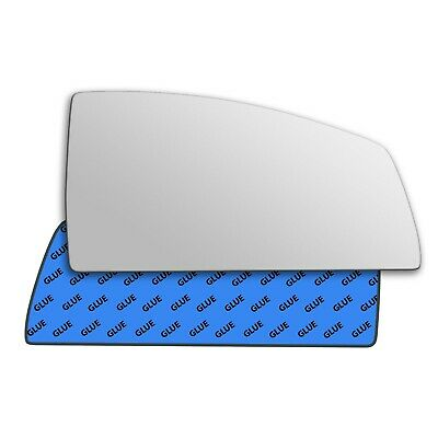 Left Passenger Convex Wing Mirror Glass for Proton Savvy 2005-2011 505LS