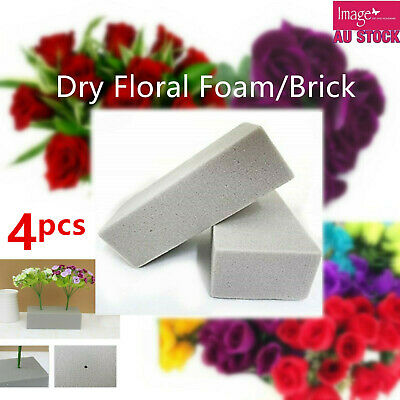 1pc Dry Floral Foam Brick Block Type Grey Flower Decoration 22.5x10.5x7cm YW