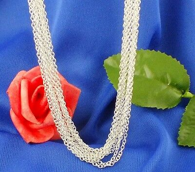 "925 Sterling Silver 1.2mm ""0"" Chain  16"", 18"", 20"", 22"", 24"", 26"" 28"" and 30"""