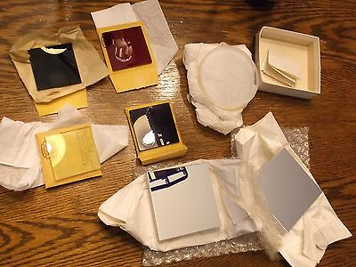 LAB LOT laser optics misc lenses, mirrors glass filters lens Rolyn