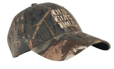 Old Guys Rule STACKED LOGO CAP CAMO