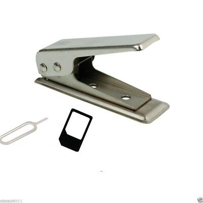 Micro/Standard to Nano SIM Card Cutter For Apple iPhone 5G