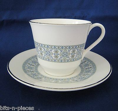 ROYAL DOULTON English bone china COUNTERPOINT Lot of 2  Cup & Saucer Set  H.5025