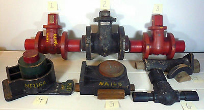 Antique Wood Foundry Casting Pattern Mold Industrial Factory Steampunk CHOOSE 1