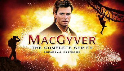 MacGyver - The Complete Series (DVD, 2007, 39-Disc Set)