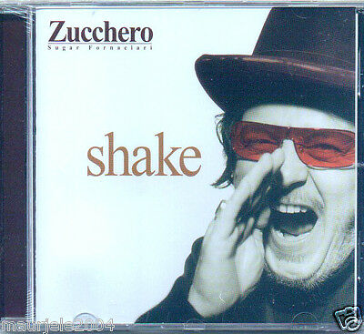 Zucchero. Shake (2002) CD NUOVO SIGILLATO Baila (sexy thing). Music in me. Ahum
