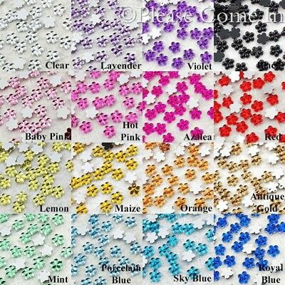 Flower Rhinestone 4mm Scrapbooking/Nail Art