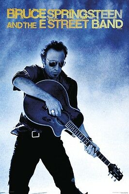 Bruce Springsteen Guitar Poster New  !