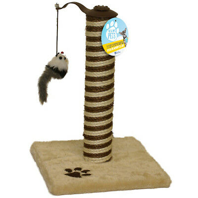 Me & My Cat/kitten Scratching Post Sisal & Mouse Play Toy Scratcher Tower