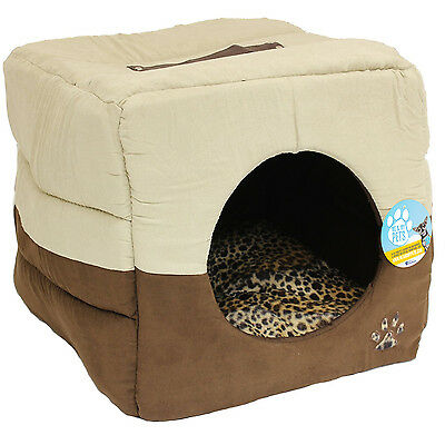 Me & My Luxury Super Soft Cat/dog Igloo/box Pet Bed Warm House/cube Puppy/kitten