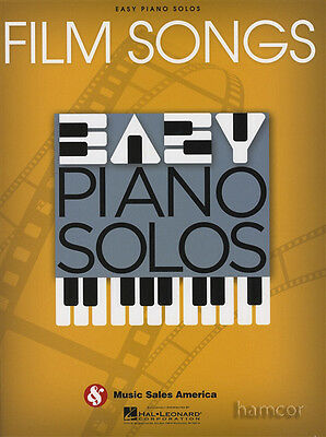 Film Songs Easy Piano Solos Sheet Music Book