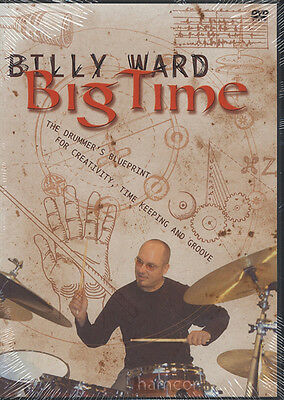 Billy Ward Big Time Drum Tuition DVD