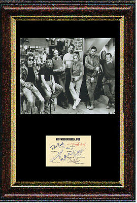 Reproduced Auf Wiedersehen, Pet 2 signed autograph item - Framed & Mounted 12x16