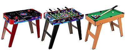 Indoor Kids Play Foosball Football Soccer Air Hockey Pool Gaming Games Table