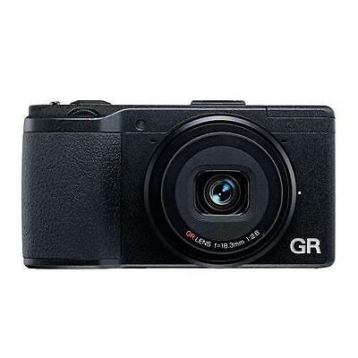 Ricoh GR Pocket-Size Digital Camera With GV1 Viewfinder And 32GB SDHC Card