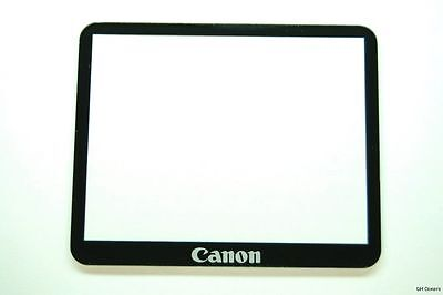 CANON EOS 5D MARK II LCD DISPLAY WINDOW + ADHESIVE TAPE GENUINE OEM NEW PART
