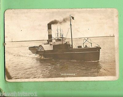 #d.   Tugboat Shipping  Postcard - Tug  Commodore