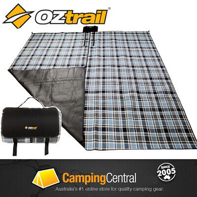 OZTRAIL 3x3m DELUXE PICNIC RUG BLANKET CAMPING FLOORING RUG MAT