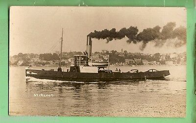#a.   Tugboat Shipping  Postcard - Tug  Stirling