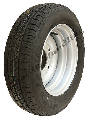 155 70 R12C trailer wheel & tyre - 5 Stud  900kg heavy duty 155 70 12