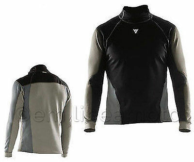 Maglia Termica Antivento Thermal Shirt  Moto Sci Dainese Top Map Ws Tg S