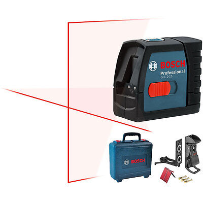 Bosch Tools Self-Leveling Cross-Line Laser GLL2-15 NEW