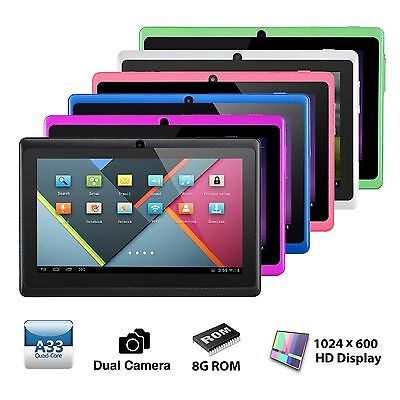 """7"""" Tablet PC Quad Core Google Android 4.4 KitKat WIFI 8GB 7 Inch HD tablet"""