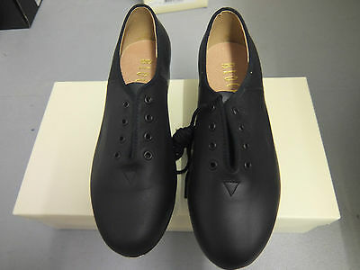 Black Bloch jazz tap shoes  - with heel and toe taps   S0301