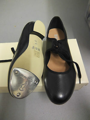 Black Bloch shirley low heel tap shoes - S0329 - all sizes