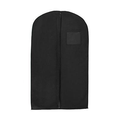 """New Breathable 54"""" Suit/Dress Black Garment Bag by Bags for Less New"""