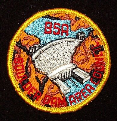 BOY SCOUT  BOULDER DAM AREA COUNCIL  70'S CP   AZ