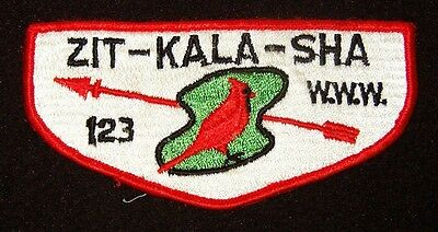 BOY SCOUT  OA 123 ZIT-KALA-SHA  S2A  OLD KENTUCKY HOME COUNCIL