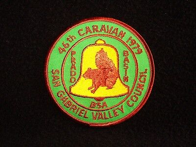 BOY SCOUT  46TH DESERT CARAVAN  1979  SAN GABRIEL VALLEY COUNCIL CALIF