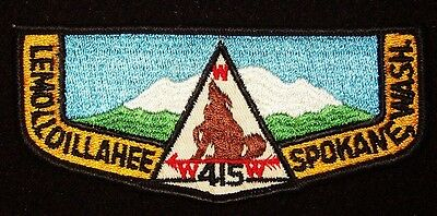 BOY SCOUT  OA 415 LEMOLLOILLAHEE  F3A   INLAND EMPIRE COUNCIL WASHINGTON