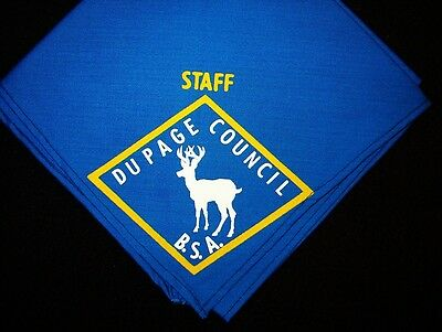 BOY SCOUT  DU PAGE COUNCIL STAFF N/C  60'S ERA    ILLINOIS