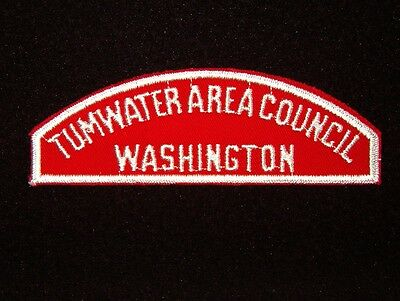 BOY SCOUT  TUMWATER AREA COUNCIL / WASHINGTON   RWS