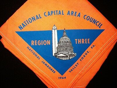BOY SCOUT  NATIONAL CAPITAL AREA COUNCIL 1964 NATIONAL JAMBOREE  N/C