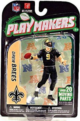 NFL Playmakers Series 3 Drew Brees Saints 4in Action Figure McFarlane Toys