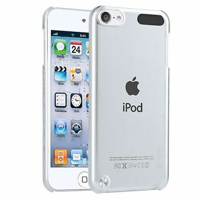 Clear Rear Crystal Hard Clip-on Case For Apple iPod Touch 6 6th 5th Gen