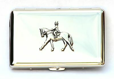 Dressage Equestrian Horse Eventing  Cigarette Tin Gift Boxed Free engraving