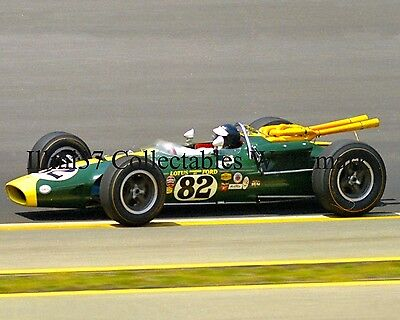 JIM CLARK 1965 INDY 500 WINNER AUTO RACING 8X10 PHOTO #2