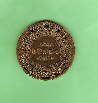 #c18.  1887  Dubbo Nsw Queen Victoria Diamond Jubilee Medal
