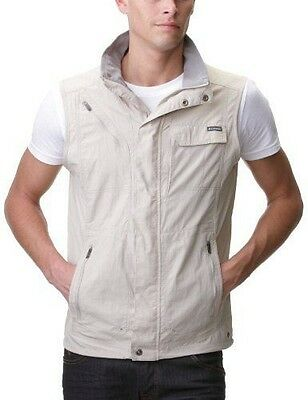 Columbia Silver Ridge Gilet sans manches Homme Fossil FR : XL (Taille NEUF