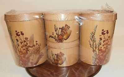 Vintage Pantryware Canisters     Set of 4    MIP