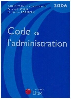 Code de l'administration : Edition 2006 ancienne édition - Type : Broch NEUF