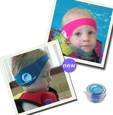 Baby Headband aqua earband swimming ear bands Water Splash Wind Protection - New
